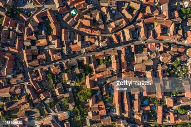 dambach la ville alsace france - vue aérienne photos et images de collection