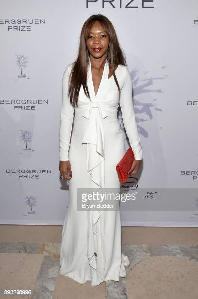 Dambisa Moyo attends the Berggruen Prize Gala at the New York Public Library on December 14 2017 in New York City