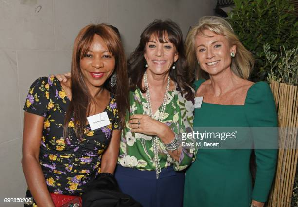 Dambisa Moyo Dame Gail Rebuck and Alison Myners attend the launch of new book 'Climate Of Hope' by Michael Bloomberg and Carl Pope at The Ned on June...