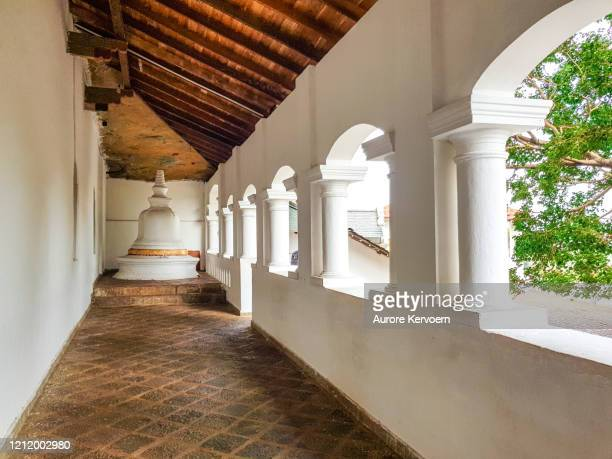 dambulla cave temple, sri lanka - stupa stock pictures, royalty-free photos & images