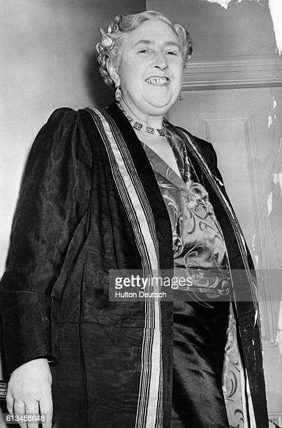 Dame Agatha Mary Clarissa Christie the English author She wrote more than 70 detective novels featuring the Belgian detective Hercule Poirot or the...