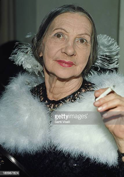 Dame Alicia Markova posing for a photo on May 23,1969 in New York, New York.
