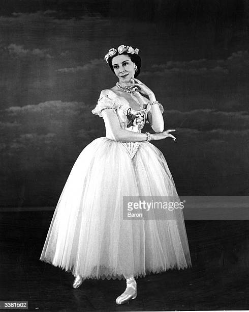 Dame Alicia Markova, professional name of Lilian Alicia Marks, the English ballerina. She joined Diaghilev's Ballet Russe in 1924. She was created...