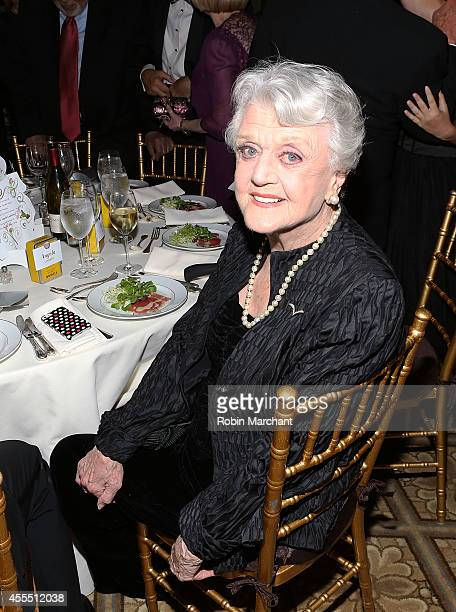 Dame Angela Landsbury attends The 2014 American Theatre Wing Gala Honoring Dame Angela Landsbury at on September 15 2014 in New York United States