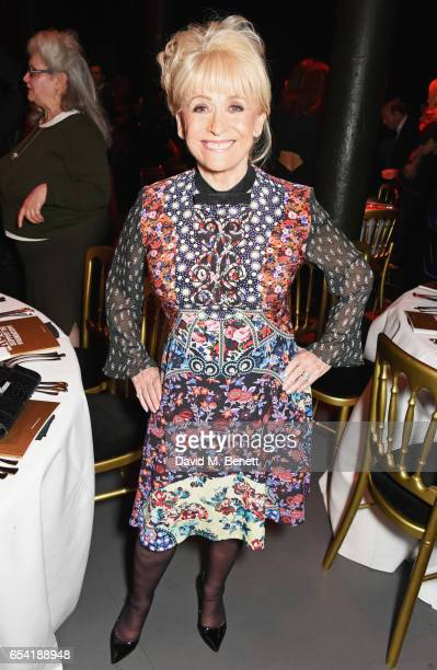 Dame Barbara Windsor attends the Roundhouse Gala at The Roundhouse on March 16 2017 in London England