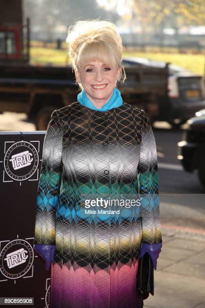 Dame Barbara Windsor attends the TRIC Awards Christmas lunch at Grosvenor House on December 12 2017 in London England