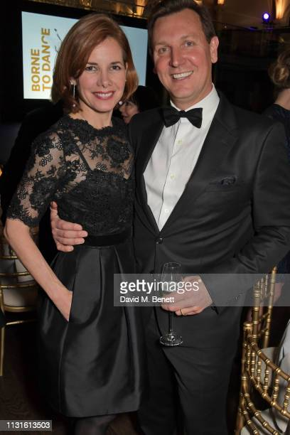 Dame Darcey Bussell and Angus Forbes attend Borne To Dance a special charity performance in aid of Borne at Paul Hamlyn Hall The Royal Opera House on...