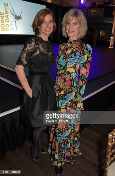 Dame Darcey Bussell and Nicola Formby attend Borne To Dance a special charity performance in aid of Borne at Paul Hamlyn Hall The Royal Opera House...