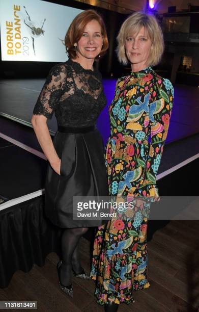 """Dame Darcey Bussell and Nicola Formby attend """"Borne To Dance"""", a special charity performance in aid of Borne, at Paul Hamlyn Hall, The Royal Opera..."""