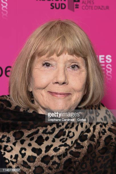 Dame Diana Rigg attends the 2nd Canneseries - International Series Festival : Day Two on April 06, 2019 in Cannes, France.