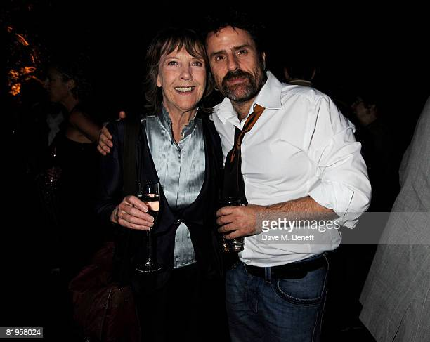 Dame Eileen Atkins and Con O'Neill attend the afterparty following the press night of 'The Female Of The Species' at Inn the Park on July 16 2008 in...