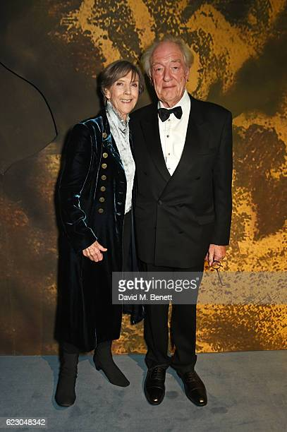 Dame Eileen Atkins and Sir Michael Gambon attend the 62nd London Evening Standard Theatre Awards, recognising excellence from across the world of...