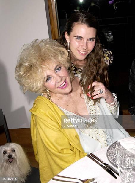 Dame Elizabeth Taylor and Naomi Wilding