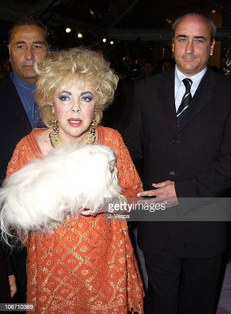 Dame Elizabeth Taylor and son Chris Wilding during InStyle Magazine Gala to Celebrate the Release of Elizabeth Taylor My Love Affair with Jewelry at...