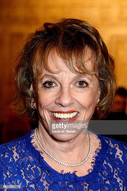 Dame Esther Rantzen attends the VIP performance of 'Kooza' by Cirque Du Soleil at Royal Albert Hall on January 6 2015 in London England