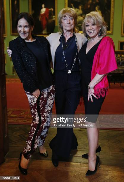 Dame Gillian Lynne with Arlene Phillips and Elaine Paige as they attend her the launch of her DVD entitled 'Longevity Through Exercise' at the...