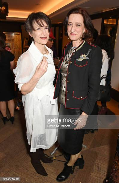 Dame Harriet Walter and Haydn Gwynne attend the inaugural Tonic Awards celebrating the achievements of women who are changing the face of UK theatre...
