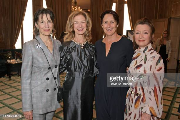 Dame Harriet Walter CEO of the Academy of Motion Picture Arts and Sciences Dawn Hudson Fiona Shaw and Lesley Manville attend The Academy Women's...