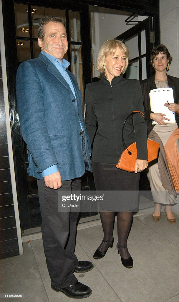 Dame Helen Mirren (right) and guest during Robert Crumb T-Shirt Launch Party at Stella McCartney Shop in London, Great Britain.