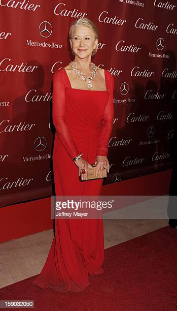 Dame Helen Mirren arrives at the 24th Annual Palm Springs International Film Festival Awards Gala at Palm Springs Convention Center on January 5 2013...