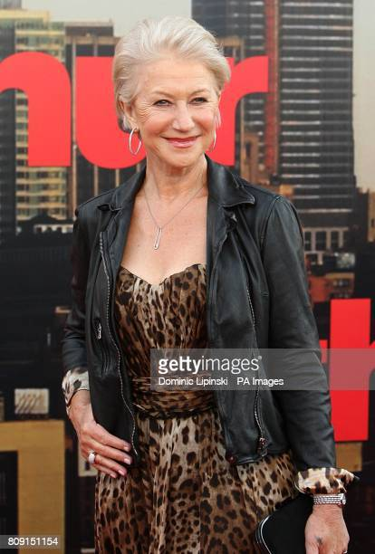 Dame Helen Mirren arriving for the UK Premiere of Arthur at the Cineworld O2 The O2 Arena SE10