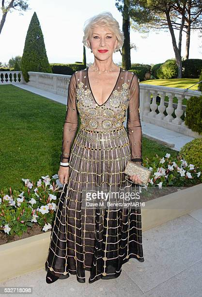 Dame Helen Mirren attends amfAR's 23rd Cinema Against AIDS Gala at Hotel du CapEdenRoc on May 19 2016 in Cap d'Antibes France