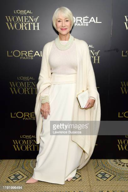 Dame Helen Mirren attends the 14th Annual L'Oréal Paris Women Of Worth Awards at The Pierre on December 04 2019 in New York City