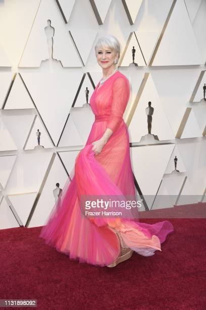 Dame Helen Mirren attends the 91st Annual Academy Awards at Hollywood and Highland on February 24 2019 in Hollywood California