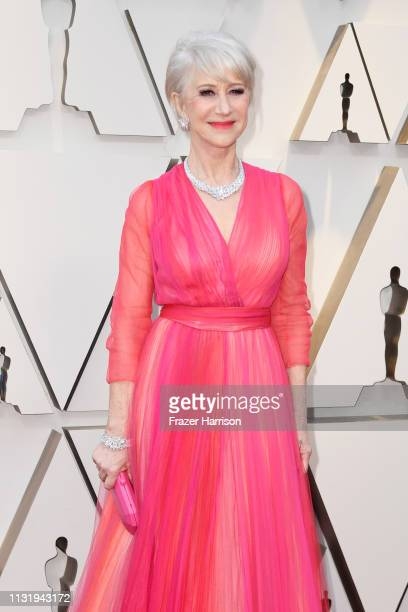 Dame Helen Mirren attends the 91st Annual Academy Awards at Hollywood and Highland on February 24, 2019 in Hollywood, California.