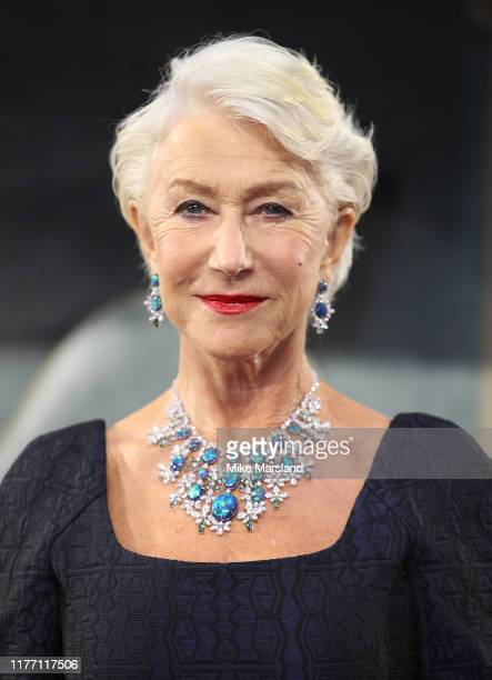 Dame Helen Mirren attends the Catherine The Great UK TV Premiere at The Curzon Mayfair on September 25 2019 in London England