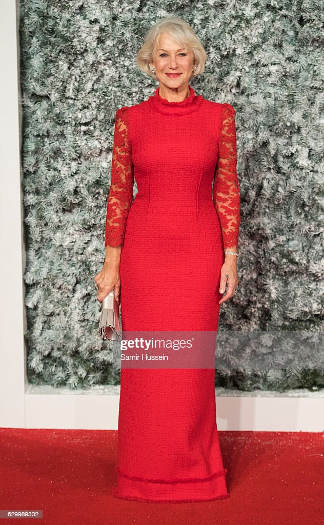 Dame Helen Mirren attends the European Premiere of 'Collateral Beauty' at Vue Leicester Square on December 15, 2016 in London, England.