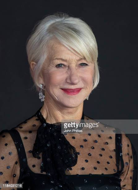Dame Helen Mirren attends The Good Liar World Premiere at BFI Southbank on October 28 2019 in London England
