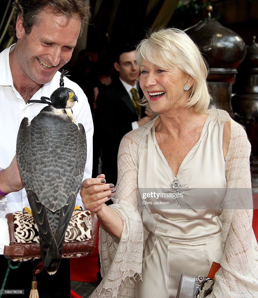 Dame Helen Mirren attends the Royal Premiere of Arabia 3D at London IMAX on May 24, 2010 in London, England.