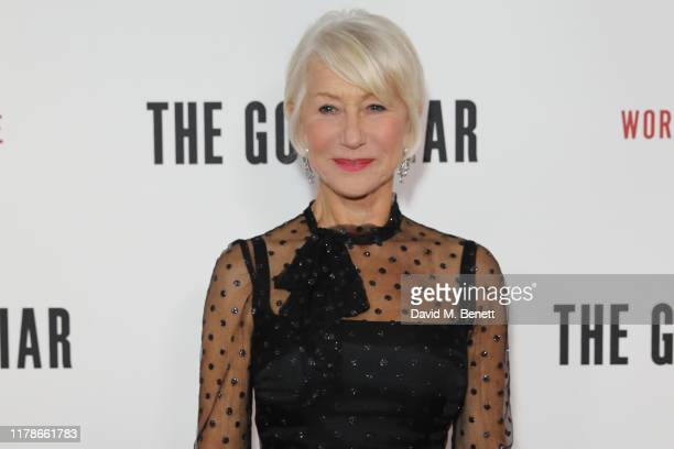 Dame Helen Mirren attends the World Premiere of The Good Liar at the BFI Southbank on October 28 2019 in London England