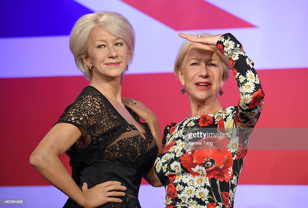 Helen Mirren Meets Her 3 Wax Figures At Madame Tussauds