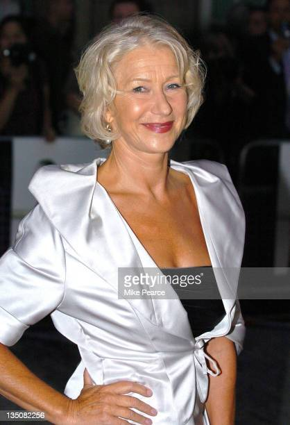 "Dame Helen Mirren during ""The Queen"" UK Film Premiere - Outside Arrivals at Curzon Mayfair in London, Great Britain."