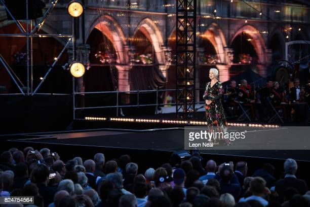 Dame Helen Mirren helps narrate as the story of the war in the Ypres region is told by performances and music set to a backdrop of visual projections...