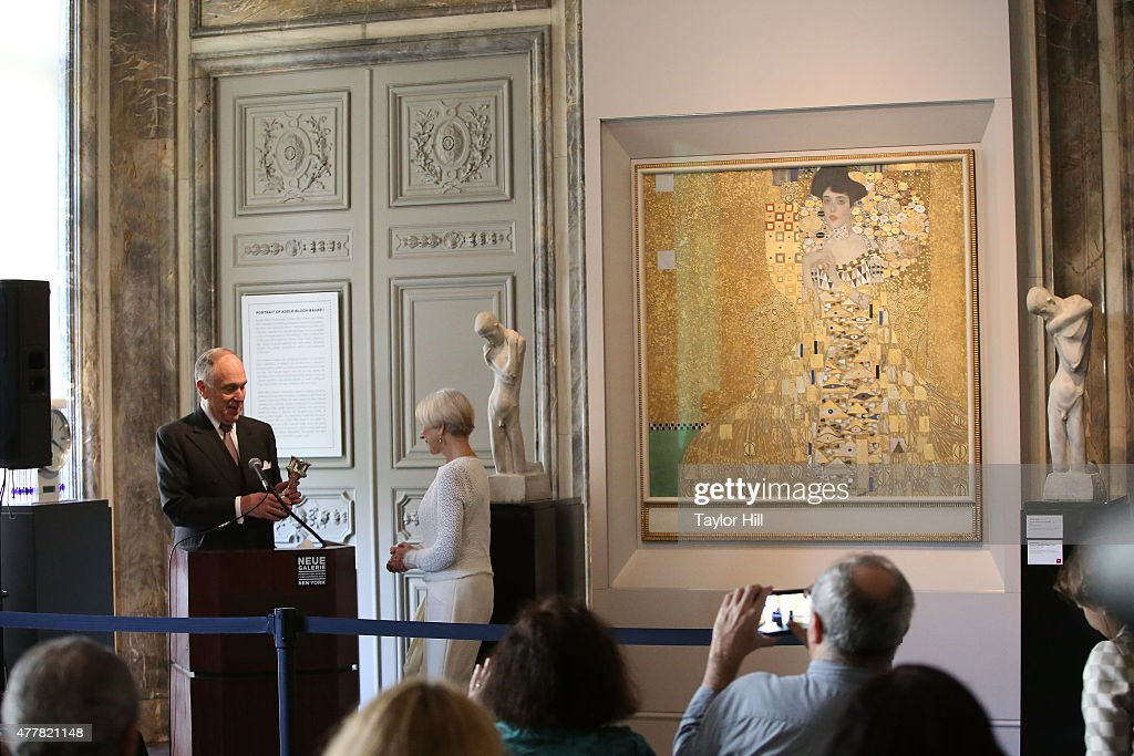 Helen Mirren Honored By The World Jewish Congress For Her Role In 'Woman In Gold' : News Photo