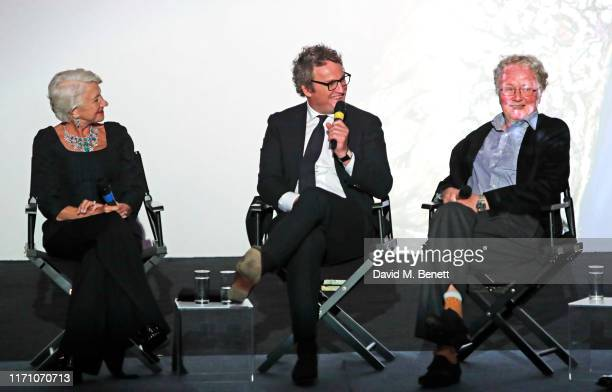 """Dame Helen Mirren, Jason Clarke and Nigel Williams speak at a Q&A following the Premiere Screening of new Sky Atlantic drama """"Catherine The Great"""" at..."""