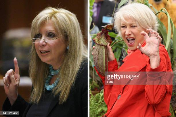 In this composite image a comparison has been made between Linda Kenney Baden and actress Helen Mirren Helen Mirren will reportedly play Linda Kenney...