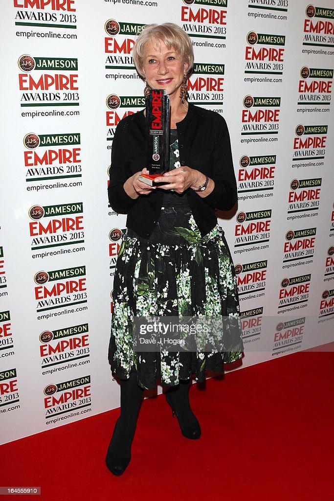 Jameson Empire Awards 2013 - Press Room : News Photo