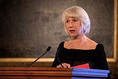london england dame helen mirren speaks