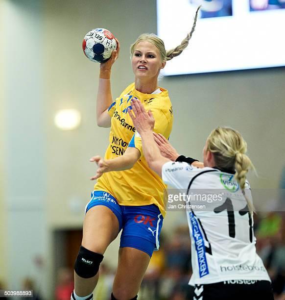 Dame Håndbold Ligaen Amalie Wichmann Nykøbing Falster HK © Jan Christensen/FrontzoneSportdk