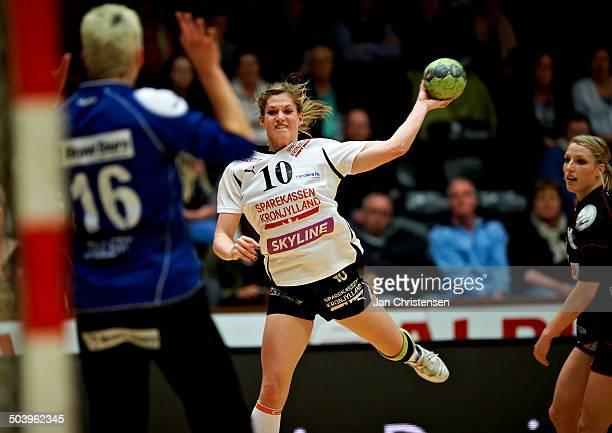 Dame Håndbold Ligaen - Gitte Andersen, Randers HK . © Jan Christensen/Frontzonesport.