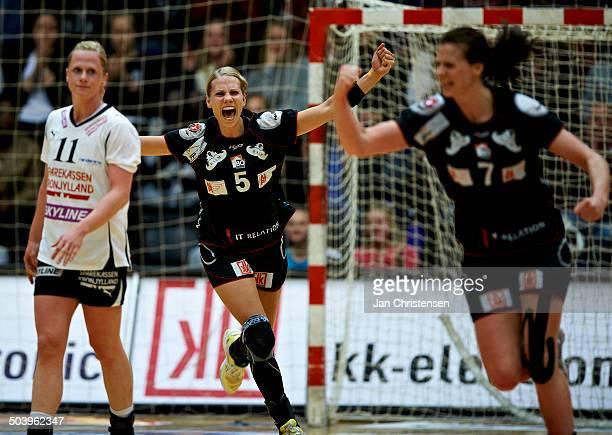 Dame Håndbold Ligaen - Louise Svalastog Spellerberg, FC Midtjylland . © Jan Christensen/Frontzonesport.