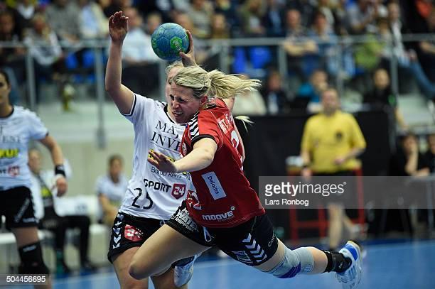Dame Håndbold Ligaen semifinaleTeam Esbjerg vs Viborg HK Johanna Ahlm Team Esbjerg © Lars Rønbøg Frontzonesport