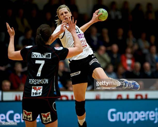 Dame Håndbold Ligaen - Susann Müller, Randers HK . © Jan Christensen/Frontzonesport.