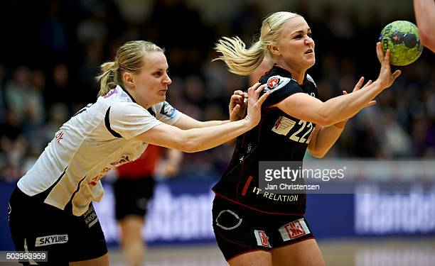 Dame Håndbold Ligaen - Trine Troelsen, FC Midtjylland . © Jan Christensen/Frontzonesport.