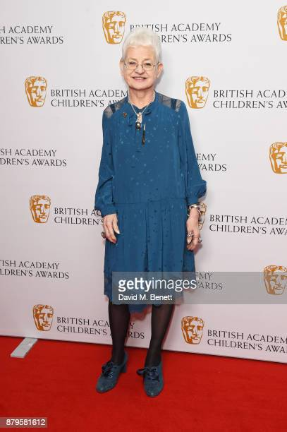 Dame Jacqueline Wilson attends the BAFTA Children's Awards at The Roundhouse on November 26 2017 in London England