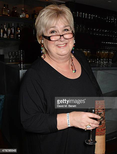 Dame Jenni Murray attends the Once The Musical Oxfam Gala performance at Phoenix Theatre on March 17 2014 in London England